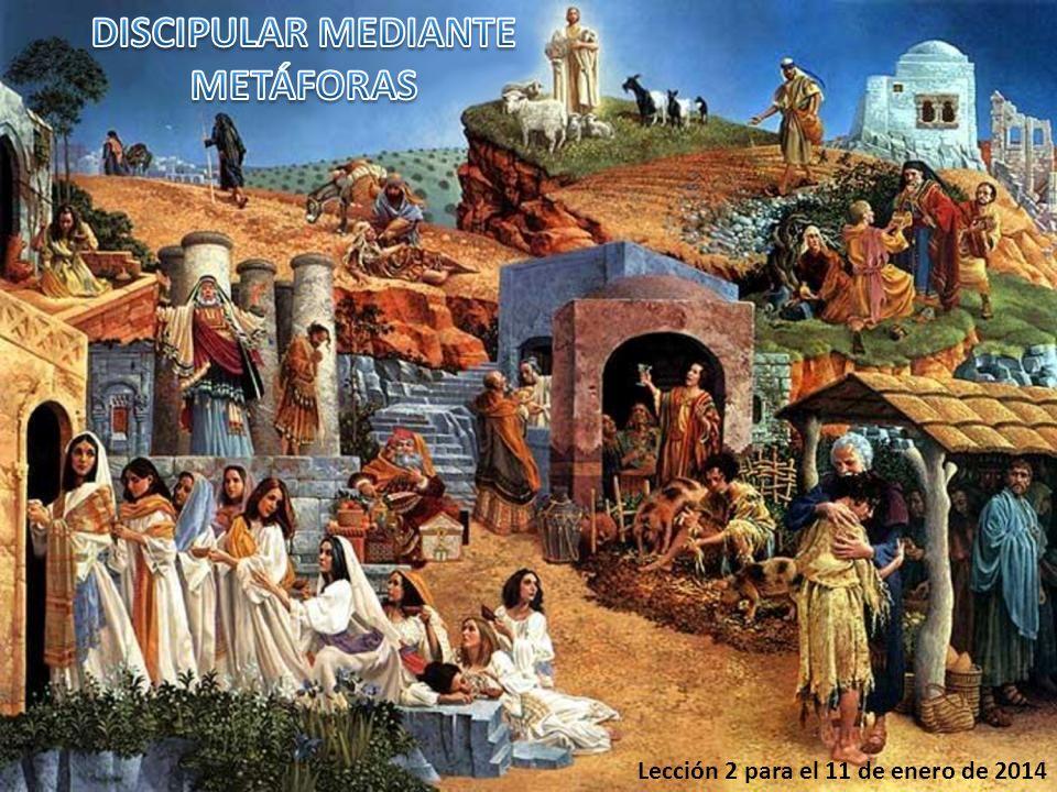 1.Metáforas en el Antiguo Testamento.2.Metáforas sobre el costo del discipulado.