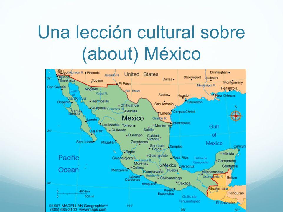 México es el primer país al sur de los Estados Unidos.