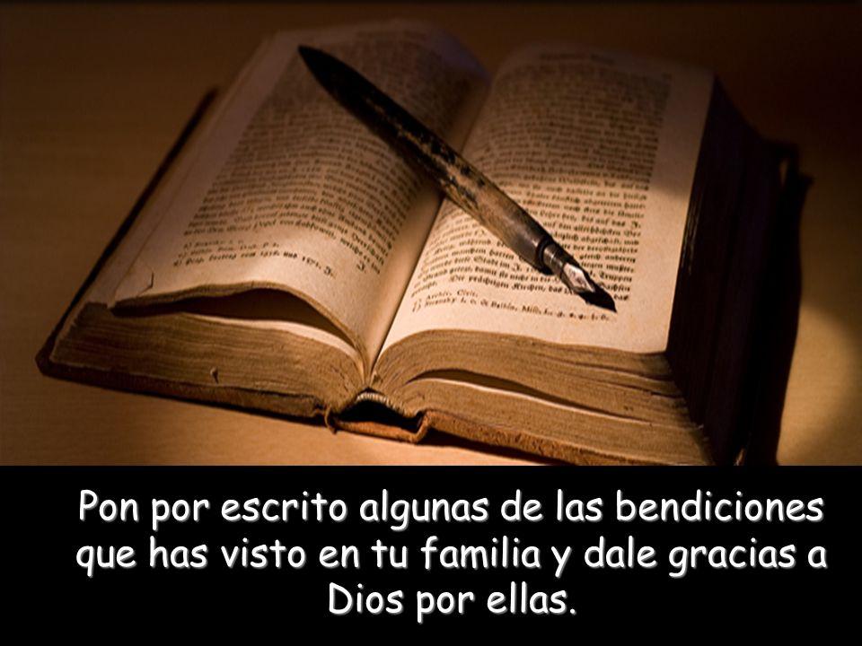 Si Dios está en el corazón de las relaciones familiares, las bendiciones alcanzarán a cada miembro de la misma.