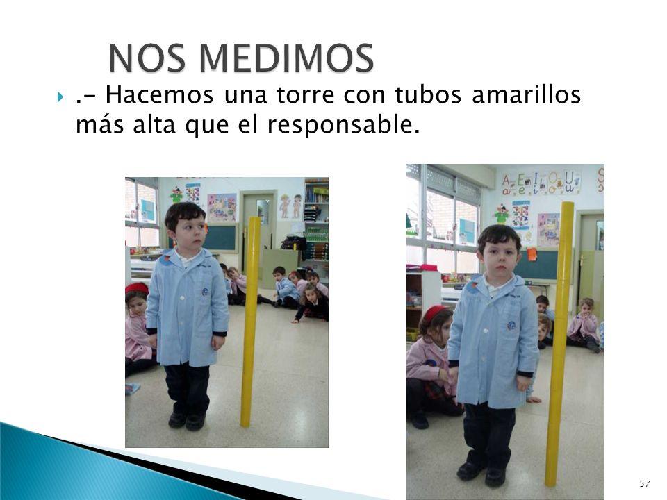 EXPERIENCIAS:.-NOS MEDIMOS..- EL MANTEL SE HA ROTO. 56