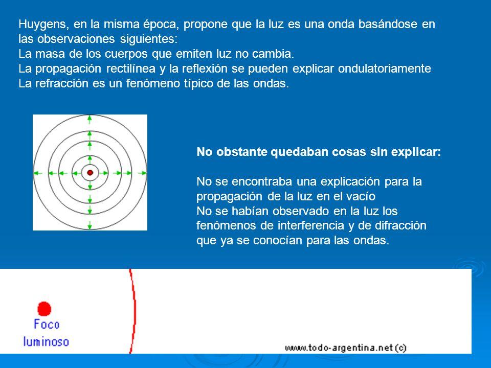 Ondas electromagnéticas En 1860, Maxwell publicó su teoría matemática sobre el electromagnetismo que predecía la existencia de ondas electromagnéticas que se propagaban a la misma velocidad que la luz.