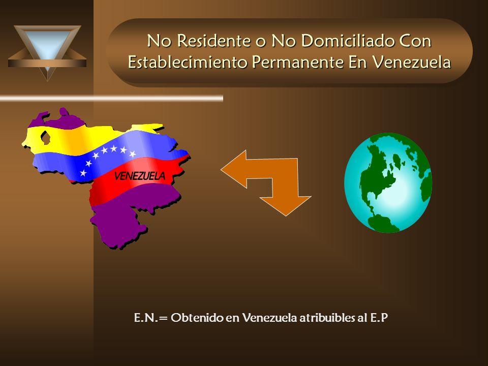 E.N.= Obtenido en Venezuela atribuibles al E.P