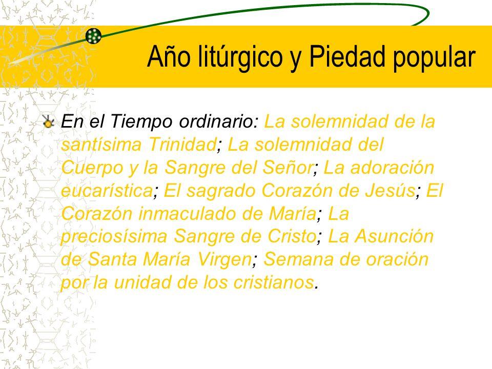 Año litúrgico y Piedad popular Sábado Santo: La Hora de la Madre .