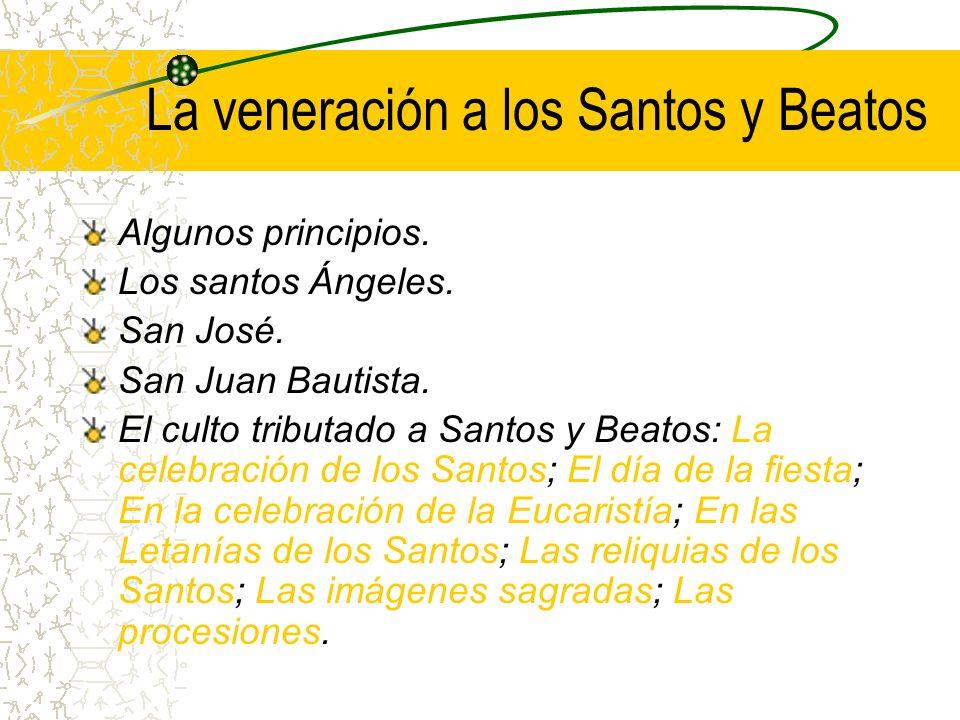 La veneración a la Santa Madre de Dios Algunos principios.