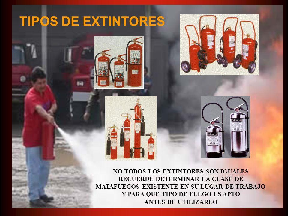 PARTES QUE COMPONEN UN EXTINGUIDOR 1.Cuerpo del extintor 2.