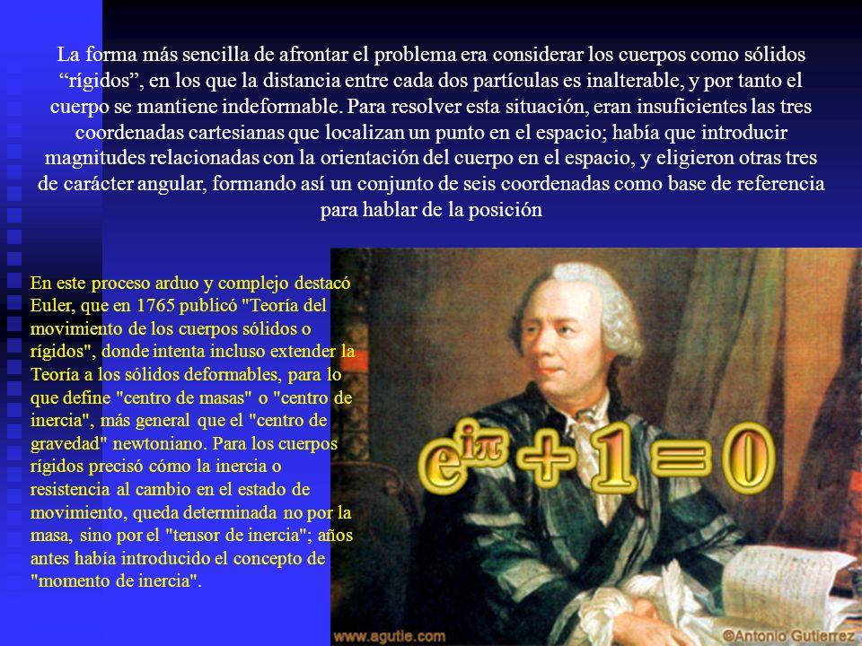 La imagen que Lagrange presenta de la Mecánica es la de una disciplina cerrada, sin preocuparse por la introducción o revisión de los conceptos básicos, lo que convierte sus teorías en una rama de la Teoría de las ecuaciones diferenciales, que por entonces estaban en pleno desarrollo.