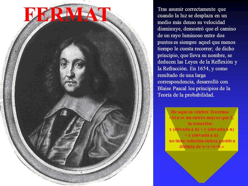 (Clermont-Ferrand, Francia, 1623- París, 1662) Filósofo, físico y matemático francés En Ruán comenzó a interesarse por la Física, y en especial por la Hidrostática, y emprendió sus primeras experiencias sobre el vacío; intervino en la polémica en torno a la existencia del horror vacui en la Naturaleza y realizó importantes experimentos (en especial el de Puy de Dôme en 1647) en apoyo de la explicación dada por Torricelli al funcionamiento del barómetro PRINCIPIO DE PASCAL