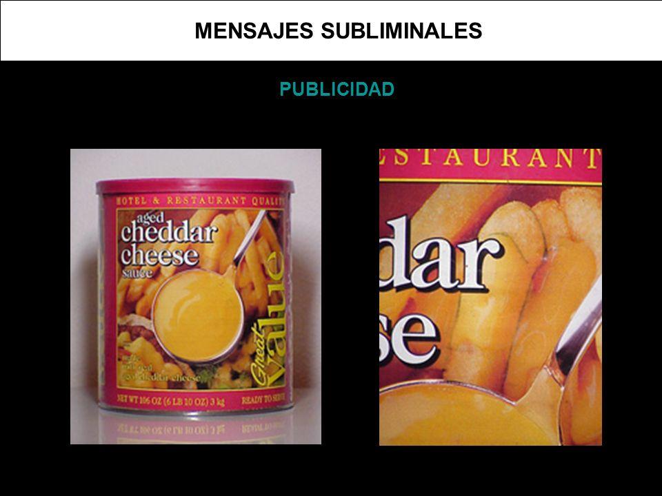 MENSAJES SUBLIMINALES PUBLICIDAD