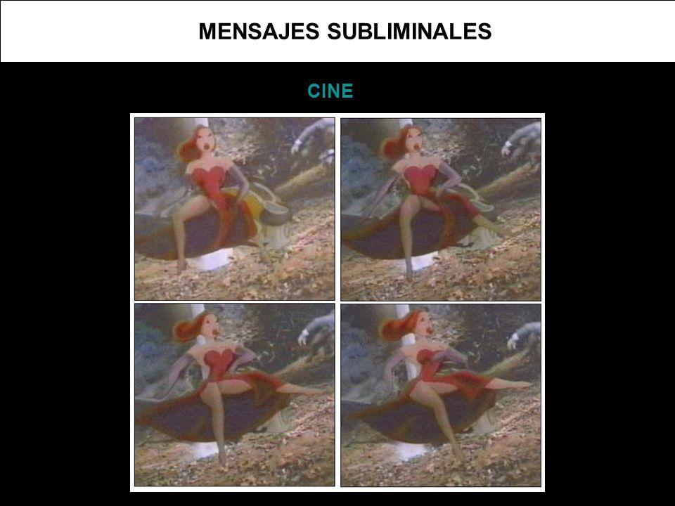 MENSAJES SUBLIMINALES CINE
