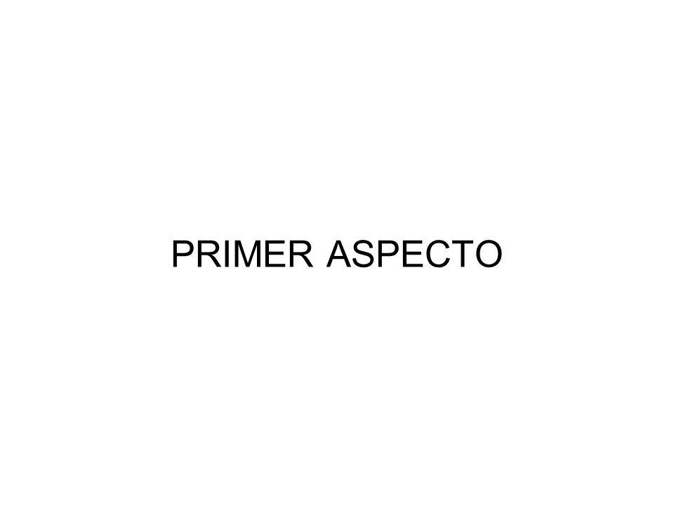 PRIMER ASPECTO