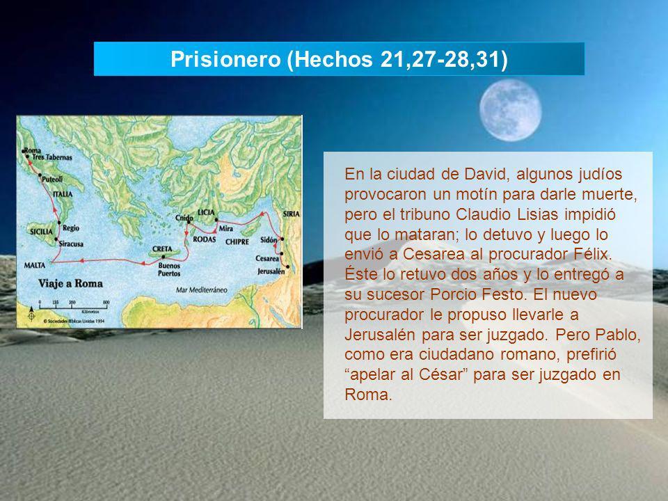 Tercer viaje misionero (Hechos 18,23-21,26) Pablo partió de Antioquía de Siria y visitó las comunidades de Galacia y Frigia para fortalecer la fe de l
