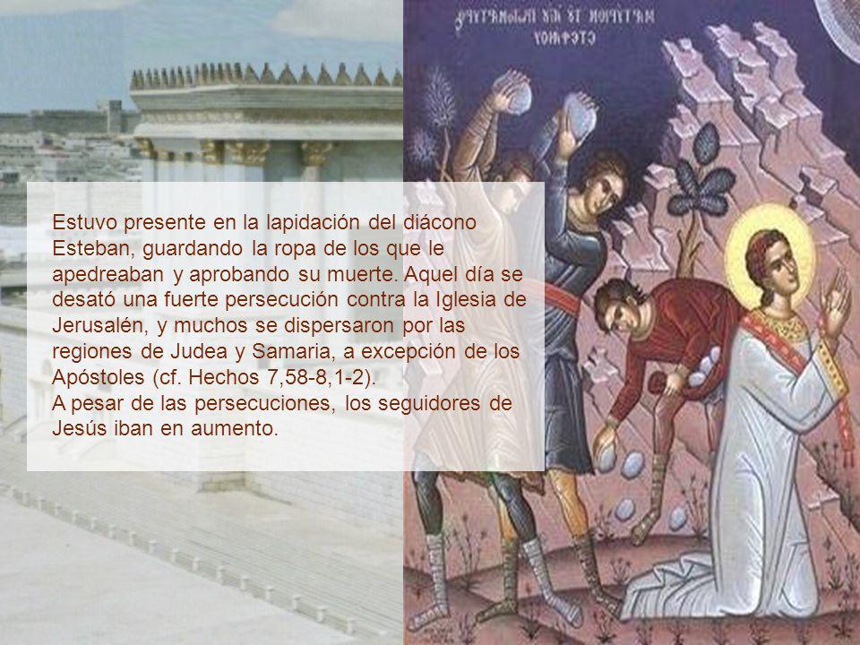 Nació en Tarso de Cilicia (en la actual Turquía) entre los años 7 al 10 de nuestra era cristiana. Tenía la ciudadanía romana y era hebreo, de la tribu