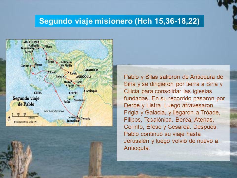 Desde Antioquía de Siria, Pablo y Bernabé bajaron a Seleucia y zarparon hacia Chipre. Predicaron el Evangelio en Salamina, Pafos, Perge de Panfilia, A