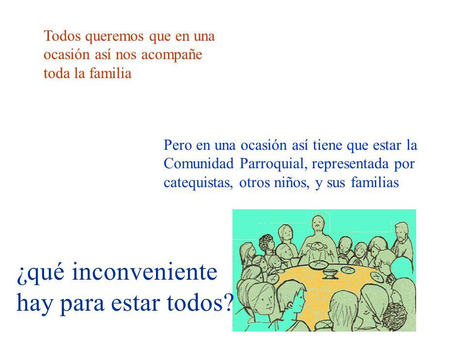 Parroquia San Francisco de Asis A Coruña 9 La familia ha de ayudar al niño a crecer, sí; pero la fe madura dentro de una comunidad, junto a los demás