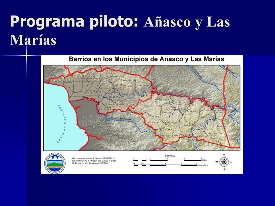 Programa piloto: Añasco y Las Marías