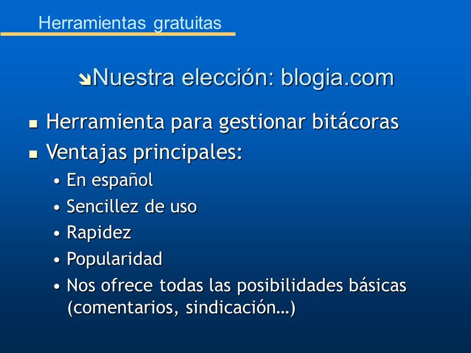 Herramientas gratuitas Herramienta para gestionar bitácoras Herramienta para gestionar bitácoras Ventajas principales: Ventajas principales: En españo
