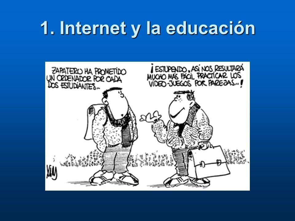 1. Internet y la educación