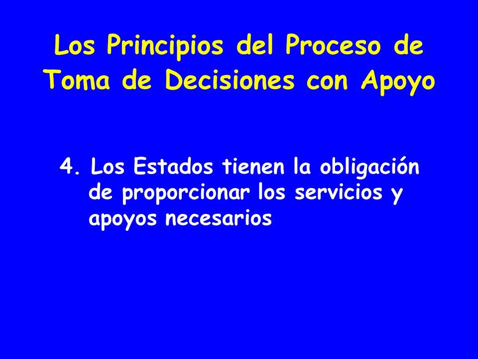 Los Principios del Proceso de Toma de Decisiones con Apoyo 4.