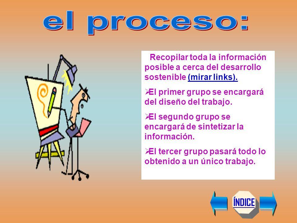 ÍNDICE 1.- http://www.ecobachillerato.comhttp://www.ecobachillerato.com 2.- http://www.mma.es (Ministerio Medio Ambiente)http://www.mma.es 3.- http://www.cinu.org.mxhttp://www.cinu.org.mx