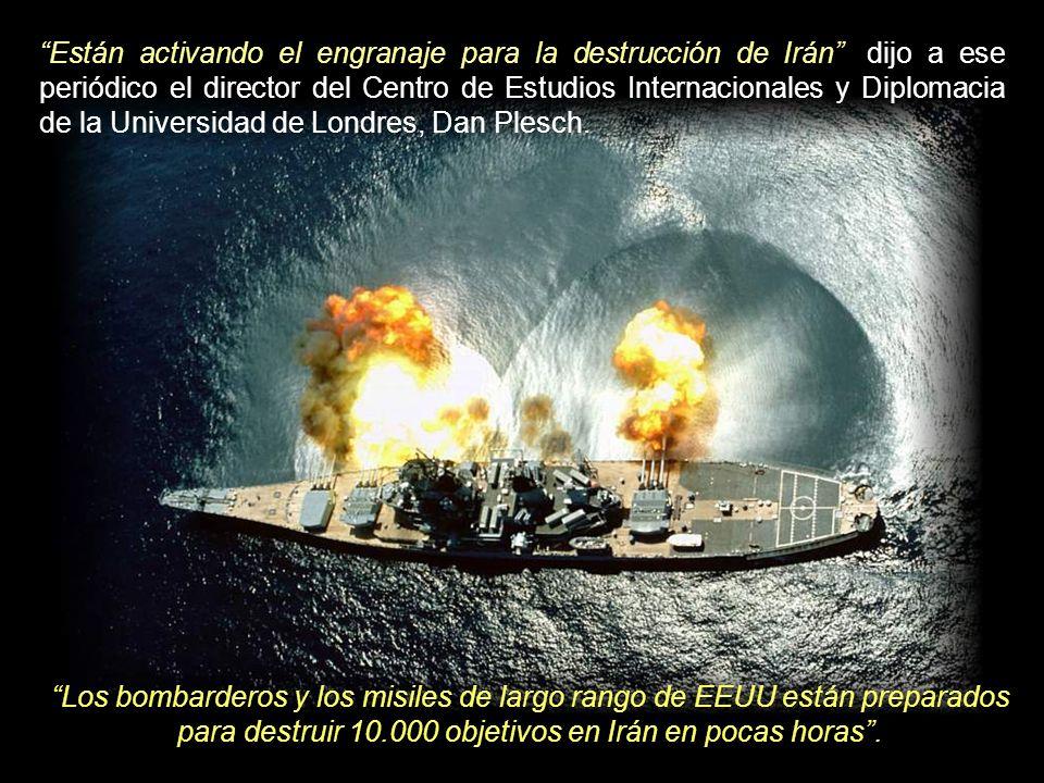 La Marina estadounidense ha informado sobre el envío de un equipamiento a la isla para apoyar a los submarinos dotados de misiles Tomahawk, que pueden