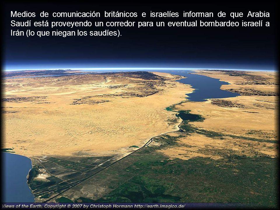 La prensa árabe informa de que una flota estadounidense (con una nave israelí) ha pasado recientemente por el Canal de Suez camino al Golfo Pérsico, d