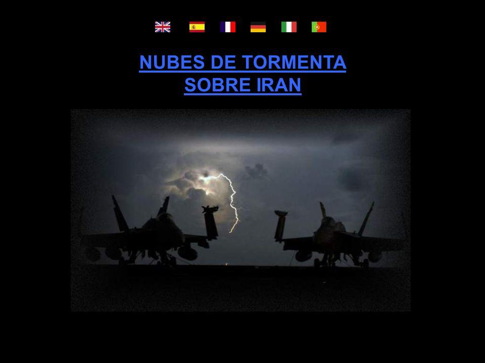 NUBES DE TORMENTA SOBRE IRAN