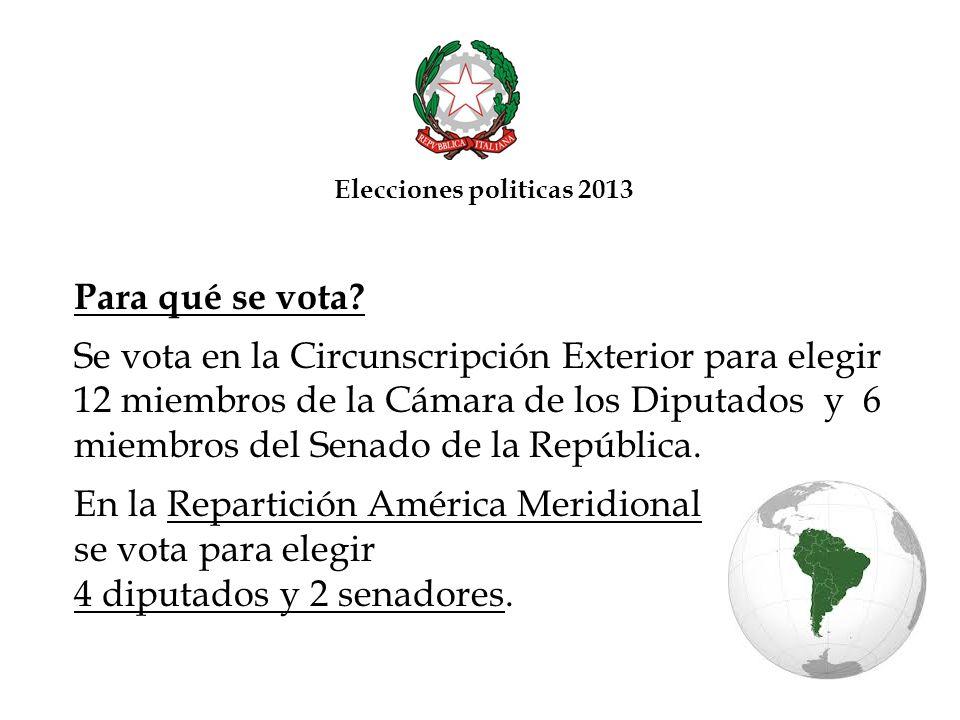 ...y entregarlo: - a mano en la Oficina Consular correspondiente ( Consulado General en Caracas, Vice Consulados Honorarios, Agencias Consulares Honorarias), O - al courier JMC Curriers Express, llamando al número (0212) 210.46.20 dentro del 19 de febrero, que se ocupará de buscar el sobre en la dirección indicada por el elector, O - a una de las agencias DOMESA ubicadas en el territorio nacional, utilizando el envase de DOMESA con su correspondiente guía de porte, ya insertados en el sobre electoral, O - a una de las agencias MRW ubicadas en el territorio nacional, especificando que se envía el sobre con cobro a destino al Consulado General de Italia en Caracas (opción válida en todos los Estados a excepción de Distrito Capital y Estado Miranda).