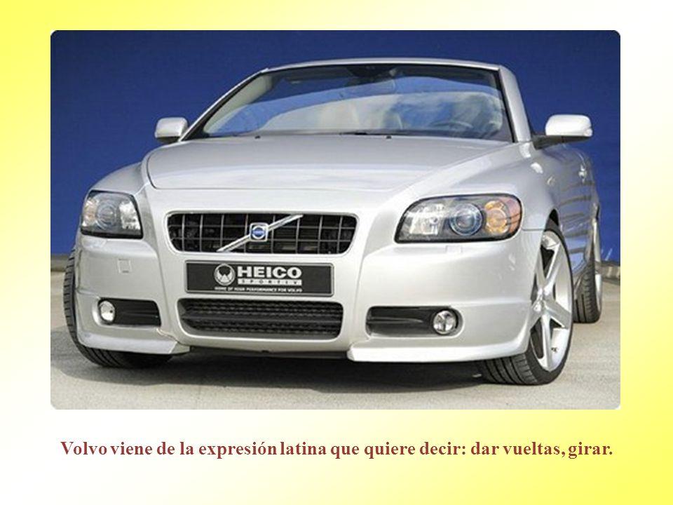 Audi es la latinización del apellido alemán de August Horch. Horch significa escuchar. En latín: Audi.