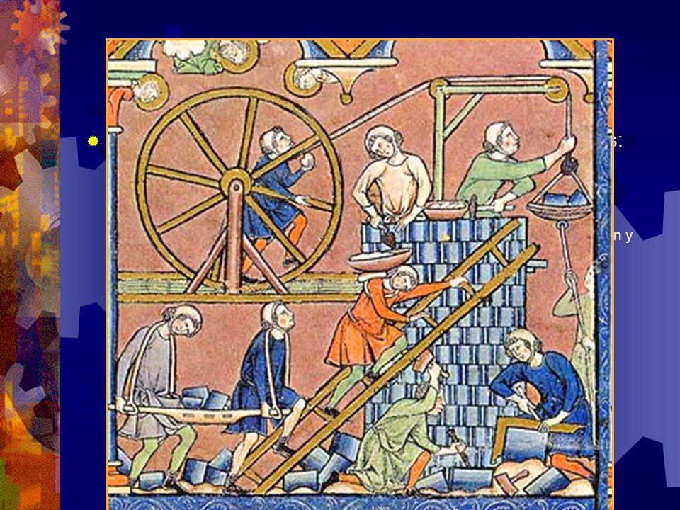 Siglo XIX Grandes avances en las tecnologías de transporte, construcción y comunicaciones.