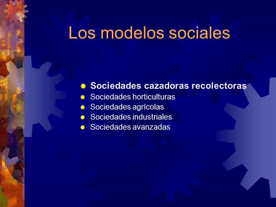 Sociedades avanzadas ¿Desarrollo = progreso.
