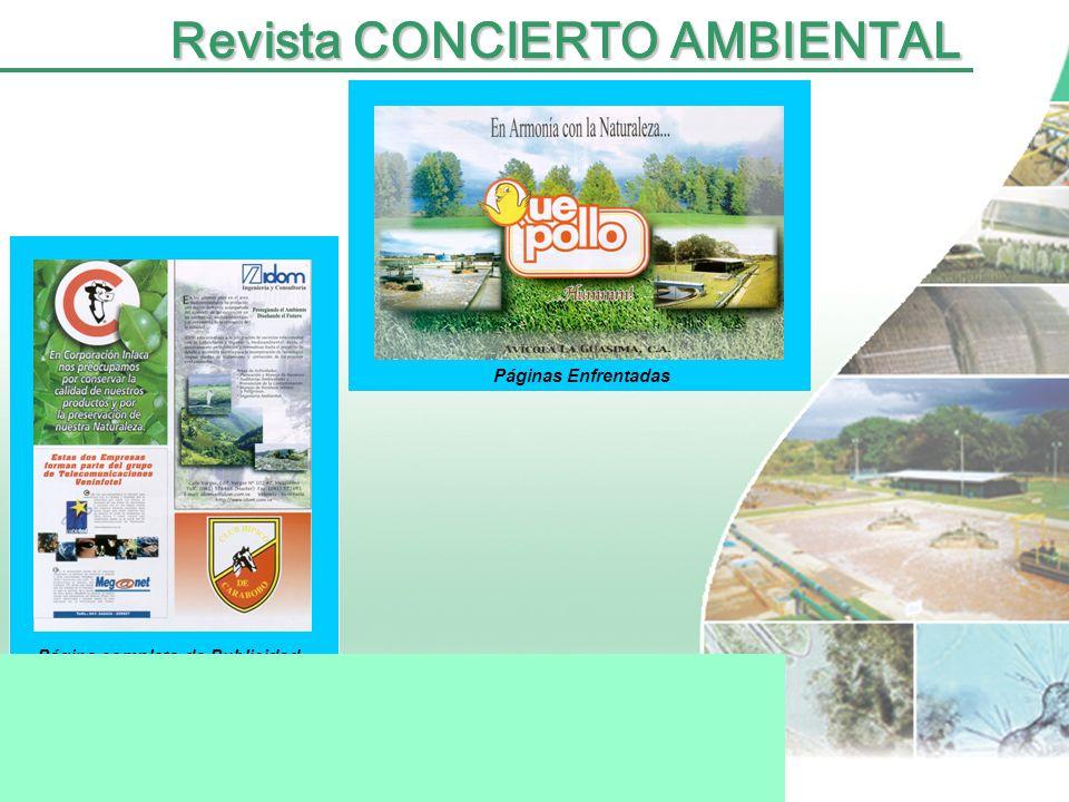 Portada Revista CONCIERTO AMBIENTAL
