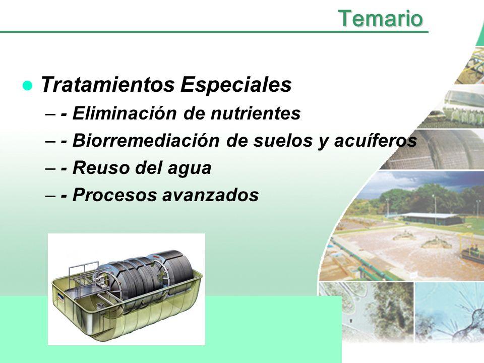 Temario Tratamientos Anaerobios - Anóxicos - Reactores UASB, RAFAB.