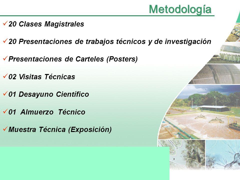 Conferencistas Dr. Simón González (México) Universidad Nacional Autónoma de México (U.N.A.M) Dr. Pedro Alvarez (USA) Universidad de Rice Dr. Gustavo R