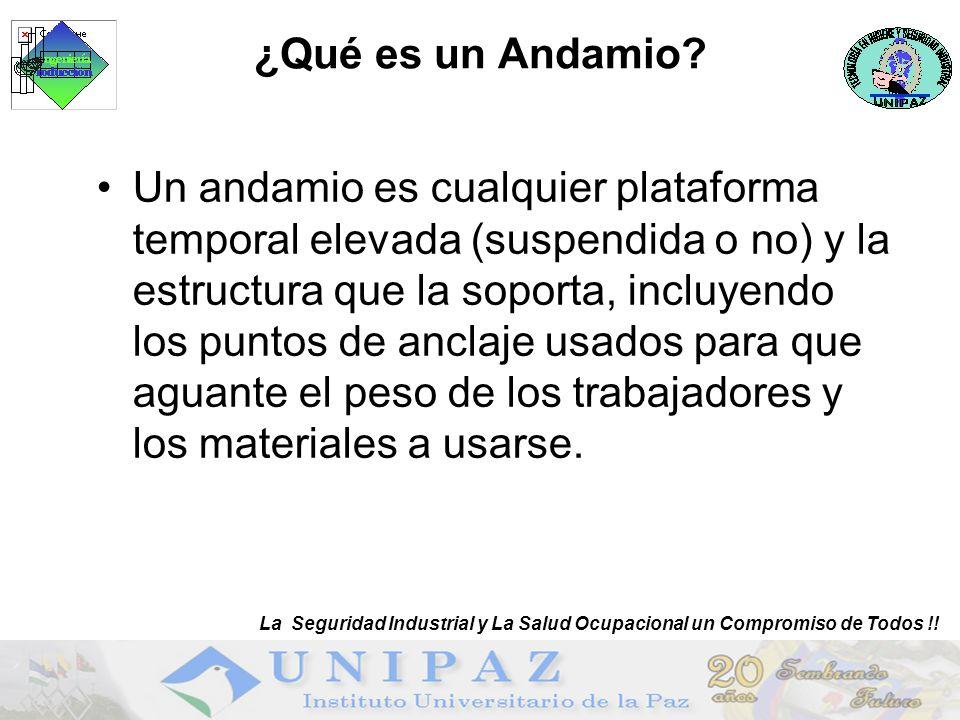 ¿Qué es un Andamio.