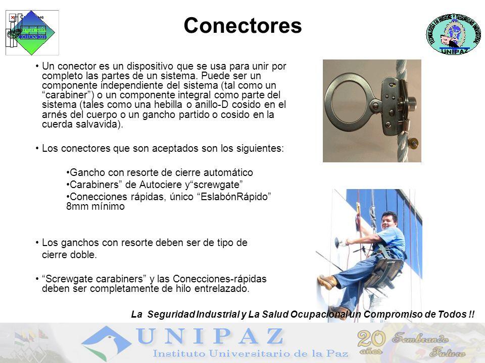 Conectores Un conector es un dispositivo que se usa para unir por completo las partes de un sistema.