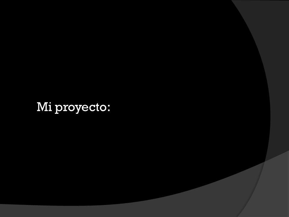 Mi proyecto: