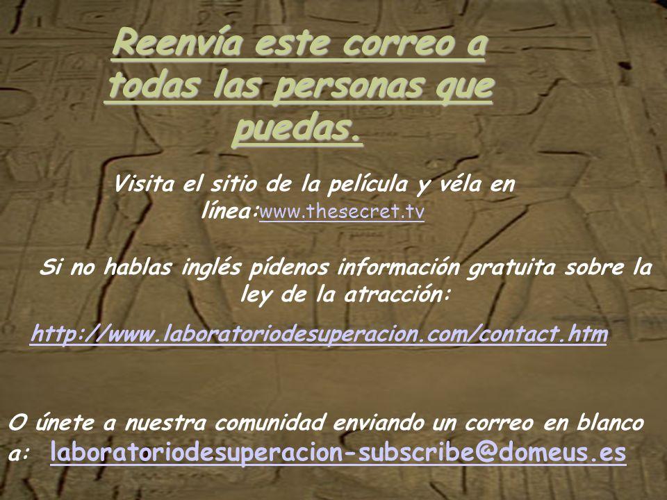 ¿Qué piensas hacer con esta información? No te calle s, ayudanos a difundir este secreto entre todos los paises de habla hispana, son los menos afortu