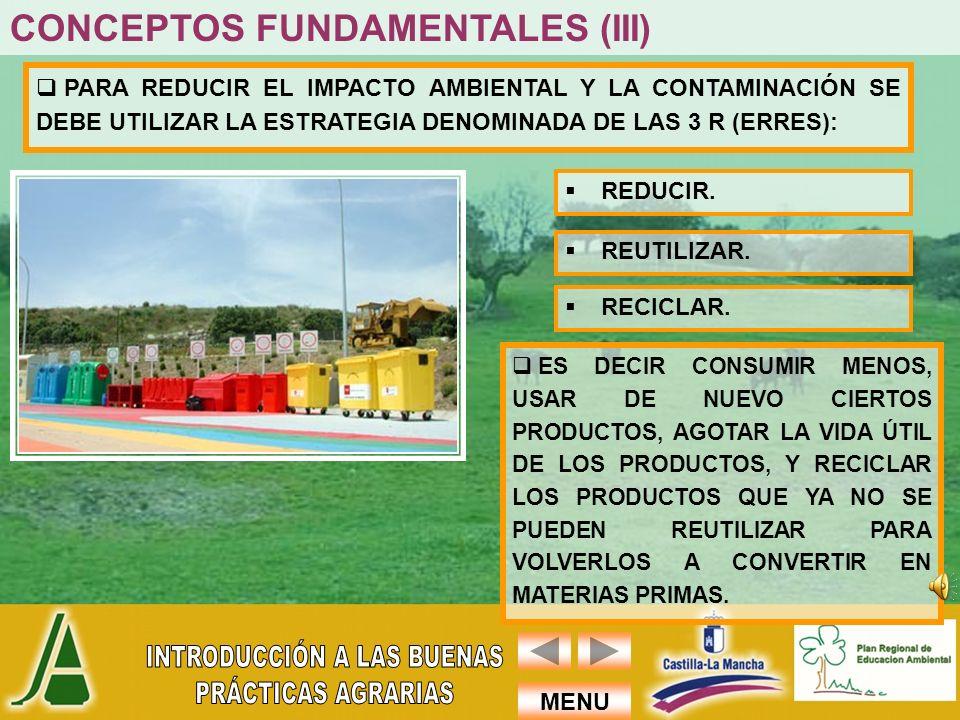 MENU LAS ACTIVIDADES AGRARIAS CONSUMEN ENTRE EL 70% Y EL 80% DEL AGUA EN ESPAÑA.