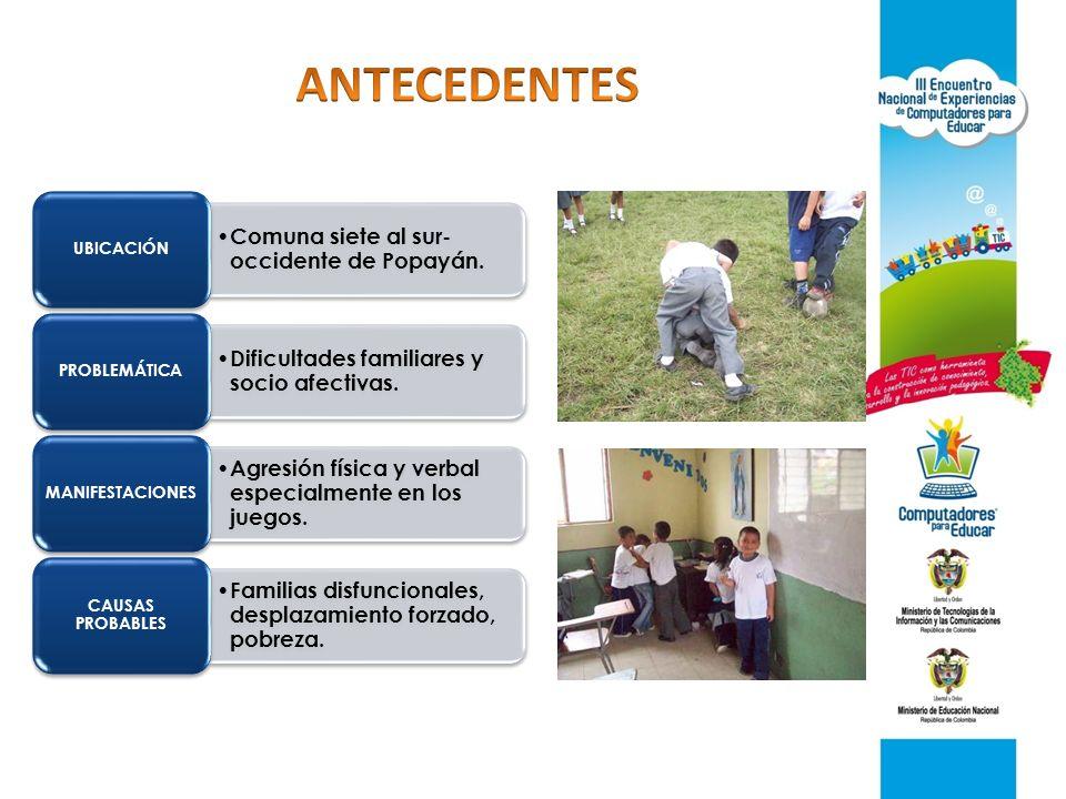 Mejoramiento de relaciones afectivas de los niños.