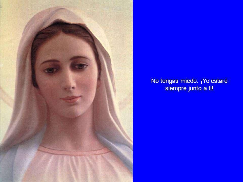 No os asombréis si en esta batalla caen todos los que no han querido o no han sabido utilizar el arma que Yo misma os he dado: la oración sencilla, humilde y mía del Santo Rosario.