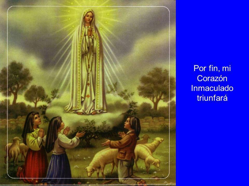 El Rosario es mi oración; es la oración que he venido a pediros desde el cielo, porque es el arma que debéis usar en estos tiempos de la gran batalla