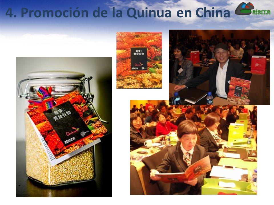 4. Promoción de la Quinua en China