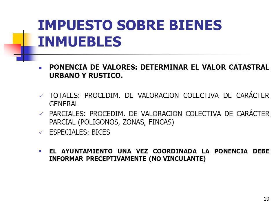 18 IMPUESTO SOBRE BIENES INMUEBLES RECOMENDACIÓN DEL OAR - CUOTA LIQUIDA EXENTA PARA B. URBANOS: 6 - CUOTA LIQUIDA EXENTA PARA B. RUSTICOS: 6