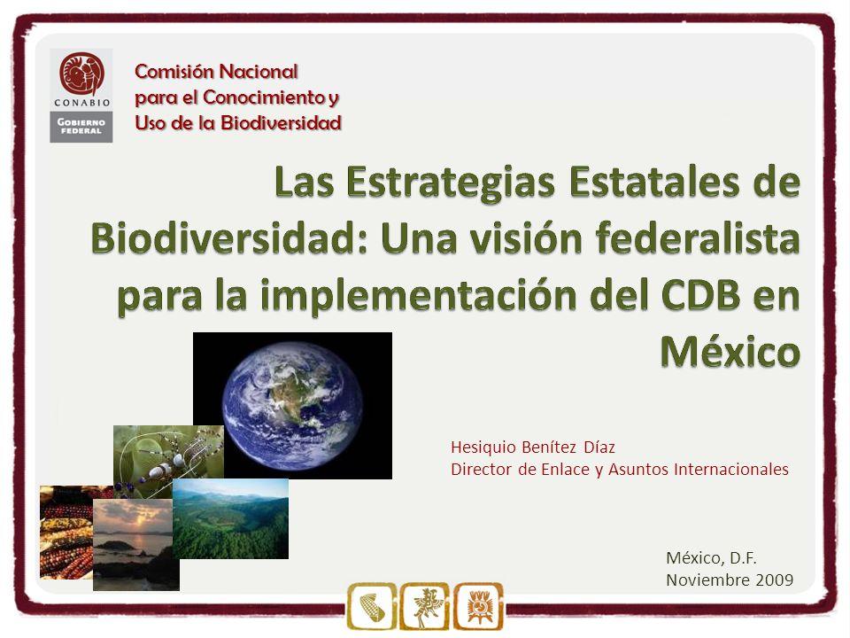 Comisión Nacional para el Conocimiento y Uso de la Biodiversidad México, D.F.