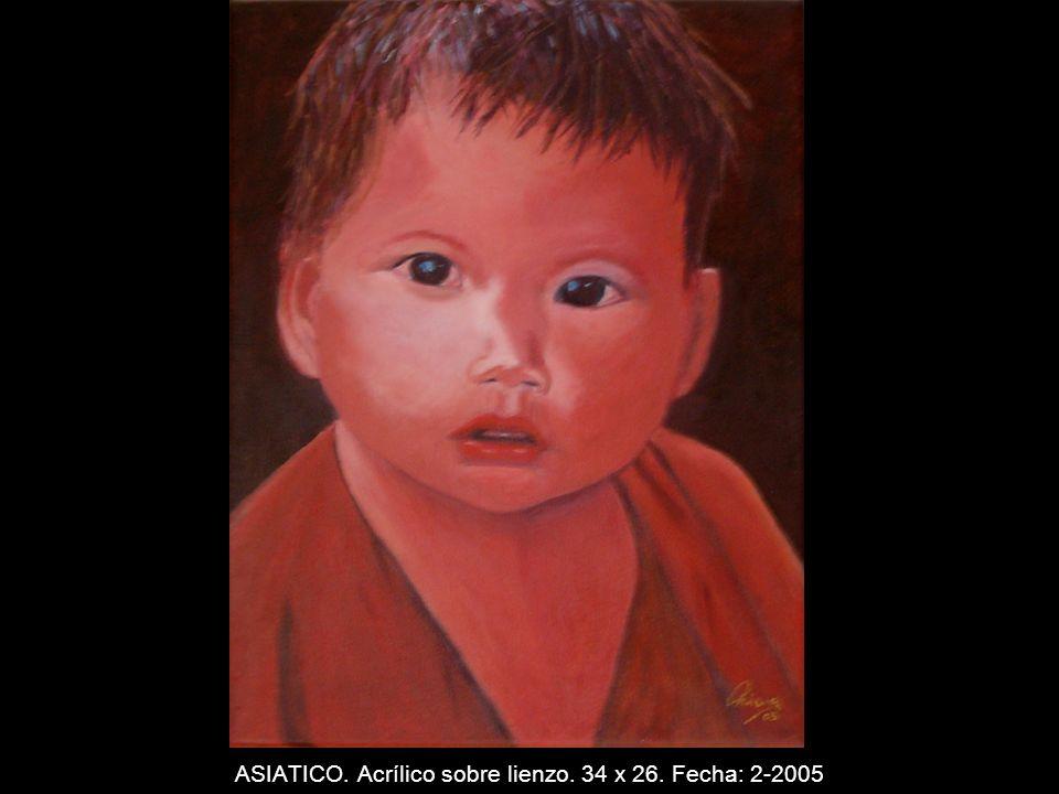 NIEVE. Acrílico sobre lienzo. 27 x 35 cm. Fecha: 1-2005