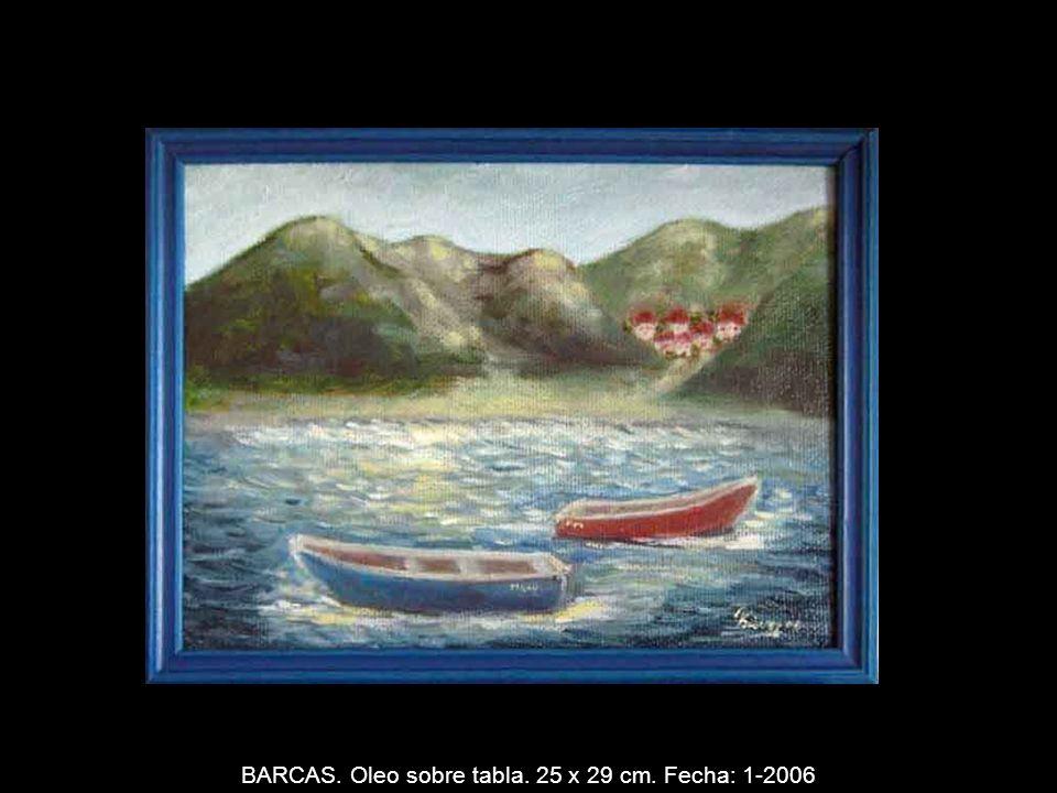 FACHADA. Oleo sobre lienzo. Espátula. 46 x 38 cm. Fecha: 10-2005