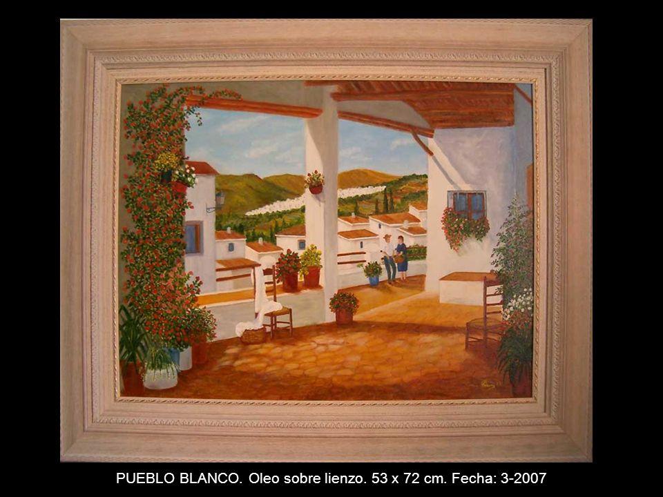 IBISCO. Oleo con textura sobre lienzo. 24 x 19 cm. Fecha: 6-2006