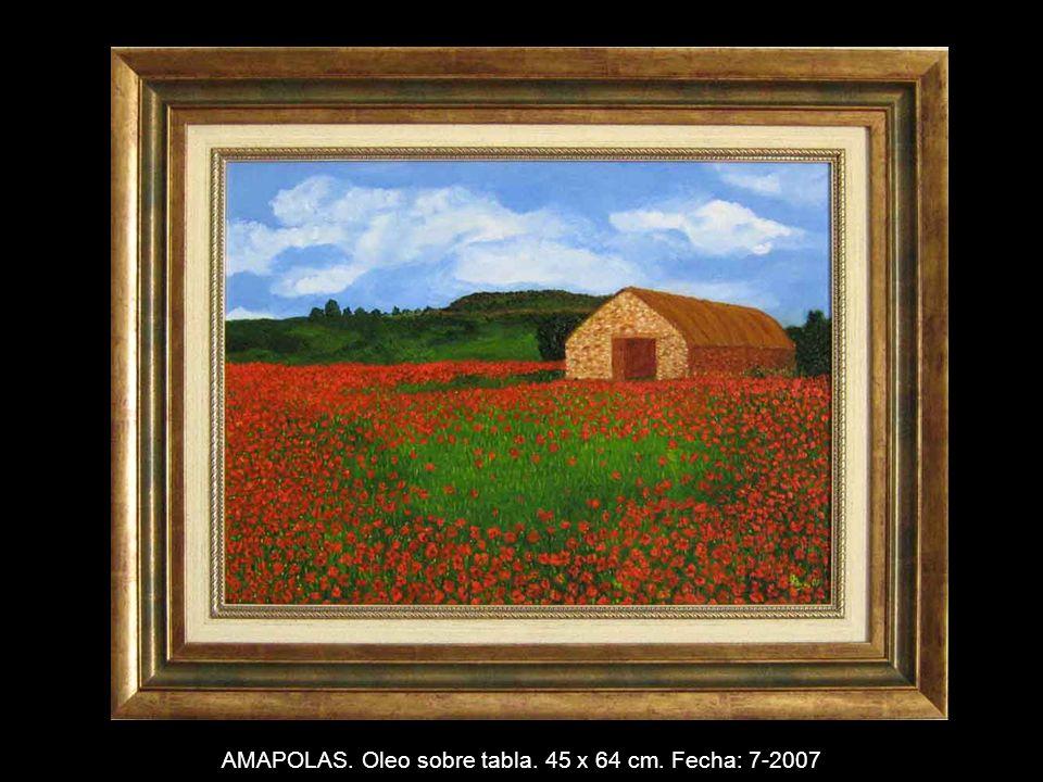 DESNUDO. Oleo sobre tabla. 38 x 55 cm. Fecha: 5-2007