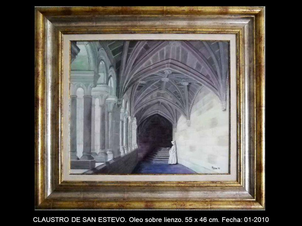 PUESTA DE SOL. Oleo sobre lienzo. 61 x 46 cm. Fecha: 11-2008
