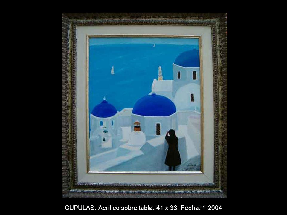 MAPACHE. Acrílico sobre tabla. 33 x 41 cms. Fecha: 11-2003